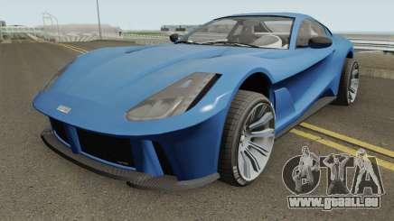 Grotti Itali GTO GTA V HQ für GTA San Andreas