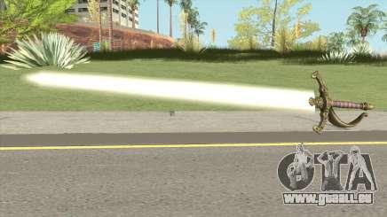 Scarlet Lumberg Sword pour GTA San Andreas