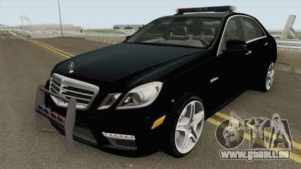 Mercedes-Benz E63 AMG Magyar Rendorseg pour GTA San Andreas