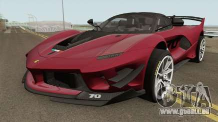 Ferrari FXX-K Evo High Quality pour GTA San Andreas