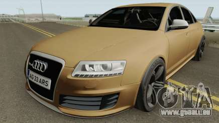 AUDI RS6 C6 ROMANIA pour GTA San Andreas