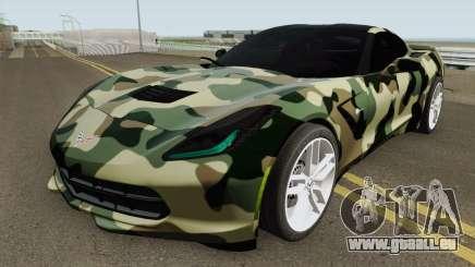 Chevrolet Corvette C7 (Army Style) pour GTA San Andreas