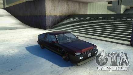 Blista Compact Low pour GTA San Andreas