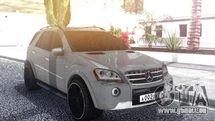 Mercedes-Benz ML 63 AMG Stock pour GTA San Andreas