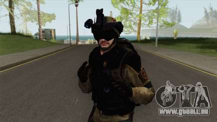 Stormtrooper From Squad Night Tiger (Warface) pour GTA San Andreas