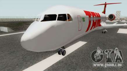 Fokker 100 TAM Airlines pour GTA San Andreas