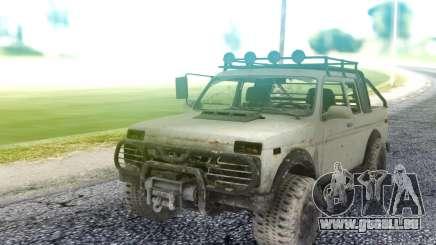Niva 2121 4x4 für GTA San Andreas