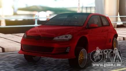 Volkswagen Pandem Golf GTI 2014 pour GTA San Andreas