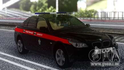 BMW M5 E60 le Comité d'Enquête de la Fédération de russie pour GTA San Andreas