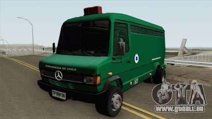 Mercedes-Benz 609D Gendarmeria De Chile pour GTA San Andreas