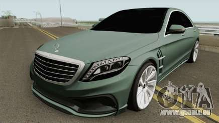 Mercedes-Benz S-Class W222 WALD Black Bison für GTA San Andreas