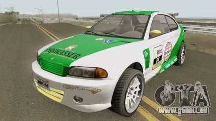 Ubermacht Sentinel Retro GTA V IVF für GTA San Andreas