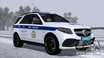 Mercedes-Benz AMG GLE 63S UGIBDD GU MVD pour GTA San Andreas