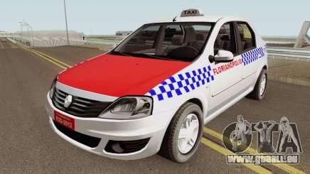 Renault Logan Taxi Florianopolis pour GTA San Andreas