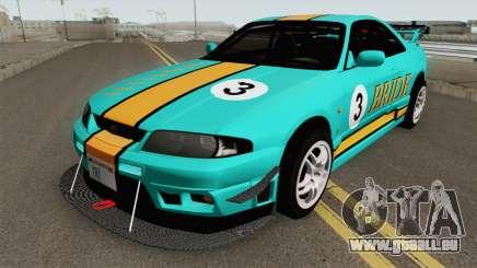 Nissan Skyline GT-R R33 1996 pour GTA San Andreas