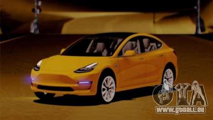 Tesla Model 3 pour GTA San Andreas