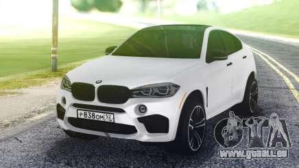BMW X6M White pour GTA San Andreas