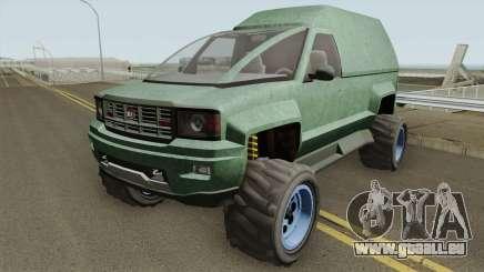 Declasse Brutus Stock GTA V IVF pour GTA San Andreas
