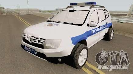Dacia Duster Serbian Police für GTA San Andreas