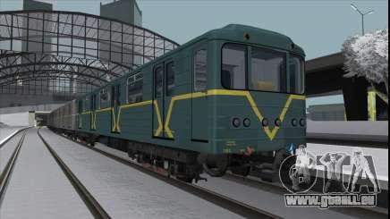 Metrovagon Ема502 7182 Kiev für GTA San Andreas