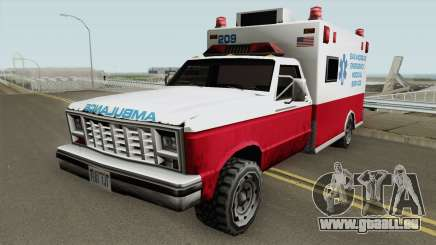 Ambulance From 70s pour GTA San Andreas