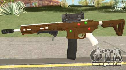 GTA Online: Carbine Rifle Mk.II Fruitcake pour GTA San Andreas
