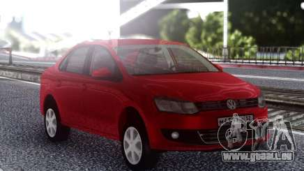 Volkswagen Polo Red pour GTA San Andreas