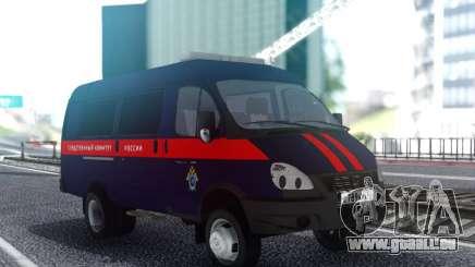 GAZelle 33023 Comité d'Enquête de la Fédération de russie pour GTA San Andreas
