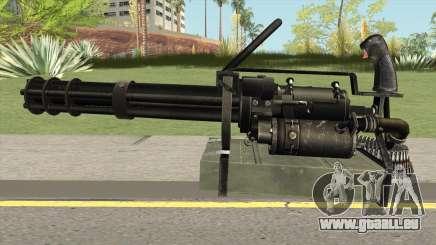 M-134 Minigun Black Ops Camo pour GTA San Andreas