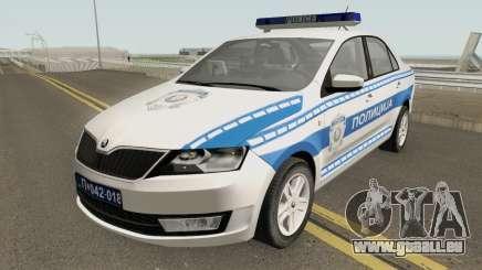 Skoda Rapid Policija pour GTA San Andreas