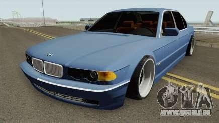 BMW E38 750iL SlowDesign 1999 für GTA San Andreas