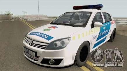 Opel Astra H Magyar Rendorseg pour GTA San Andreas