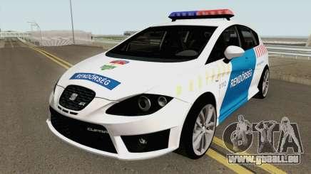 Seat Leon Cupra Magyar Rendorseg (Fixed) pour GTA San Andreas