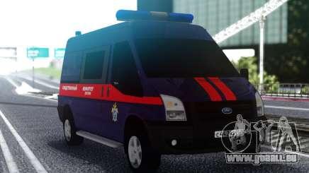 Ford Transit Commission d'Enquête de la Fédération de russie pour GTA San Andreas