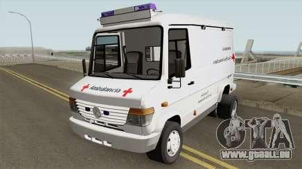 Mercedes-Benz Vario 512D Ambulancia Venezuela pour GTA San Andreas