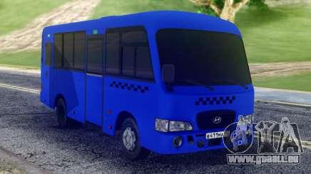 Hyundai County SWB Bus pour GTA San Andreas