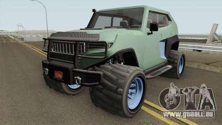 Canis Freecrawler GTA V pour GTA San Andreas