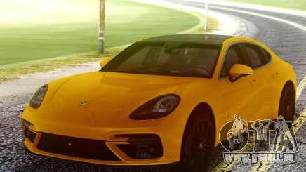 Porsche Panamera Yellow für GTA San Andreas