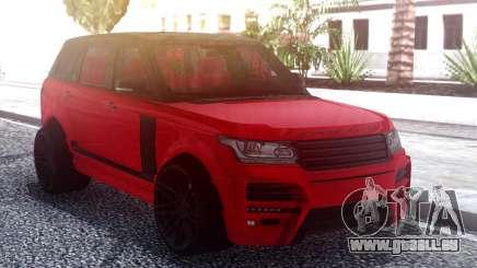 Range Rover Vogue L405 Startech Red für GTA San Andreas