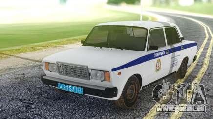 2107 PDL locale représentant des services de Police pour GTA San Andreas