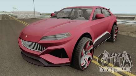 Pegassi Toros GTA V für GTA San Andreas