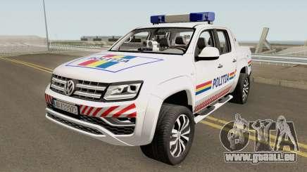 Volkswagen Amarok V6 - Politia Romana 2018 für GTA San Andreas