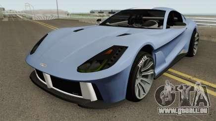 Grotti Itali GTO GTA V für GTA San Andreas