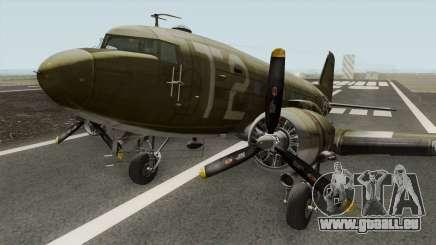 Douglas C-47 Skytrain für GTA San Andreas