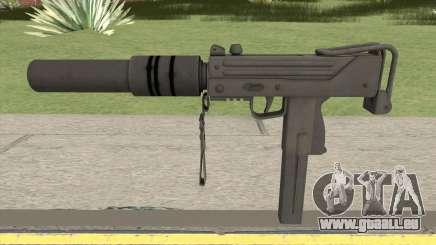 MAC-10 Suppressed HQ pour GTA San Andreas