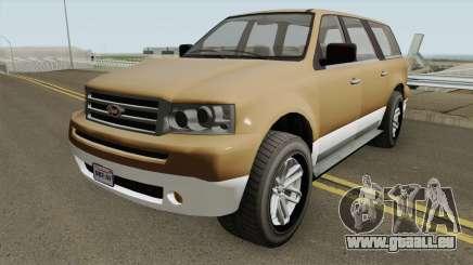 Vapid Prospector Normal V2 GTA V pour GTA San Andreas