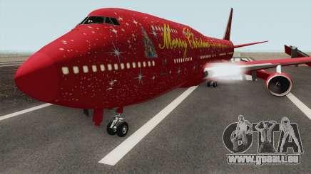 Boeing 747-400 Christmas für GTA San Andreas