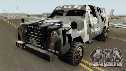 Swatvan COE-SP (GATE-MG) TCGTABR pour GTA San Andreas