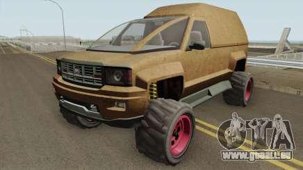 Declasse Brutus Stock GTA V pour GTA San Andreas