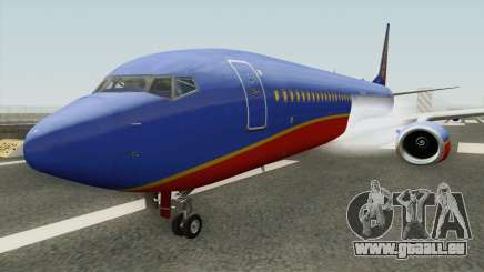 Boeing 737-800 Southwest Airlines (Canyon Blue) pour GTA San Andreas